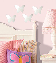 Butterfly Peel and Stick Small Mirror Wall Decals