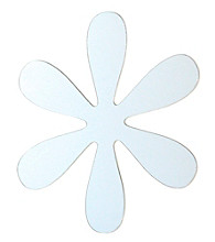 Flower Peel and Stick Mirror Wall Decal