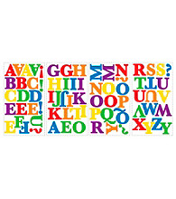 Primary Alphabet Peel and Stick Wall Decals