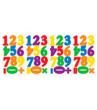Primary Numbers Peel and Stick Wall Decals