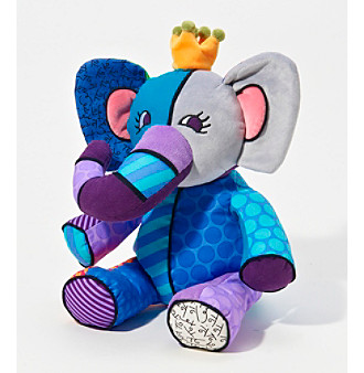 Disney by Britto Jasper the Elephant Stuffed Animal