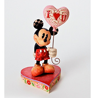 Disney Traditions Mickey® with Heart Balloons