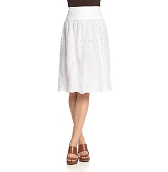 Jones New York Signature® Full Skirt with Yoke