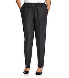 Alfred Dunner® Plus Size Classic Elastic-Waist Pants