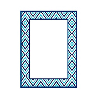 Brewster Home Fashions Diamond Dry Erase Board