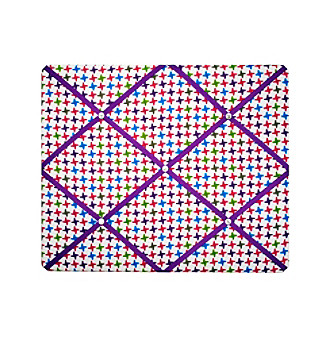New View Jagged Check French Memo Board