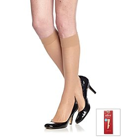 Hanes® Alive Full Support Knee Highs