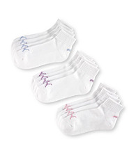 PUMA® 6-pk. Quarter Top Socks - White