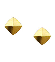 Vince Camuto™ Goldtone Pyramid Stud Earrings