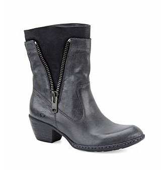 "Børn ""Mila"" Boot with Side Zipper"