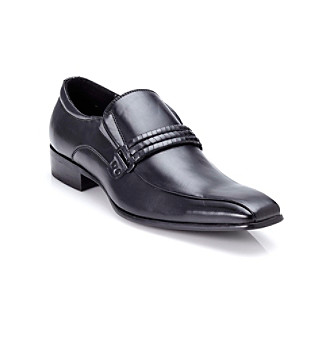 "Unlisted by Kenneth Cole® Men's ""Triple Double"" Dress Loafer - Black"