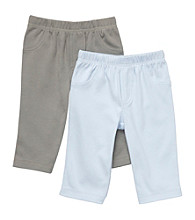 Carter's® Baby Boys' Blue/Grey 2-pk. Knit Pants
