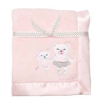 Carter's® Baby Girls' Pink Velboa Blanket