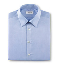 Calvin Klein Men's Point Collar Dress Shirt