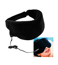 Remedy™ Heat Sensitive Memory Foam Sleep Mask with Music Input