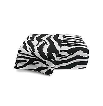 Scent-Sation, Inc. Wild Life Black Zebra Print Sheet Sets