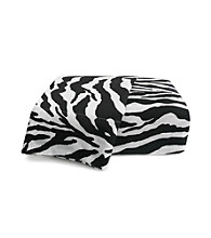 Scent-Sation, Inc. Wild Life Black Zebra Print Sheet Sets