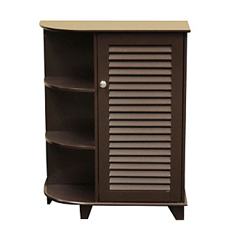 RiverRidge Home Products Ellsworth Espresso Floor Cabinet with Shelves