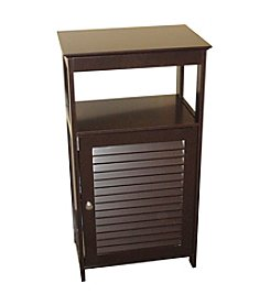 RiverRidge Home Products Ellsworth Espresso Small Floor Cabinet