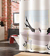 Veratex® Spa Girl Shower Curtain