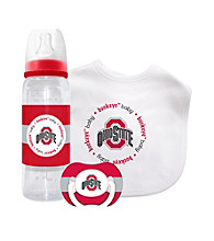 TNT Media Group Ohio State Buckeyes Baby Gift Set