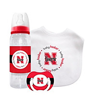 TNT Media Group University of Nebraska Cornhuskers Baby Gift Set