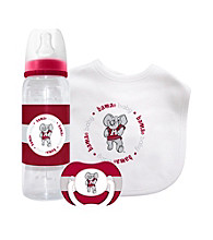 TNT Media Group University of Alabama Crimson Tide Baby Gift Set