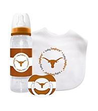 TNT Media Group University of Texas Longhorns Baby Gift Set