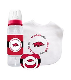 TNT Media Group University of Arkansas Razorbacks Baby Gift Set