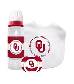 TNT Media Group University of Oklahoma Sooners Baby Gift Set