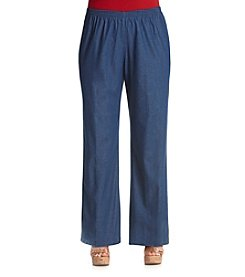 Alfred Dunner® Plus Size Denim Pant