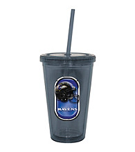 TNT Media Group Baltimore Ravens Sip N Go Tumbler