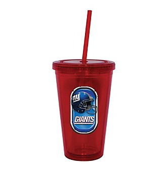 TNT Media Group New York Giants Sip N Go Tumbler