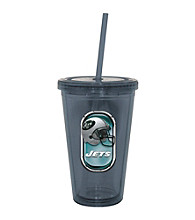TNT Media Group New York Jets Sip N Go Tumbler
