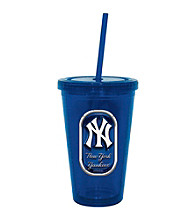 TNT Media Group New York Yankees Sip N Go Tumbler