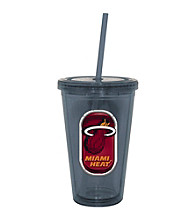 TNT Media Group Miami Heat Sip N Go Tumbler