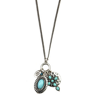"Nine West Vintage America Collection® 16/32"" Convertible Charm Pendant Necklace"
