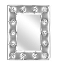 Lumisource® Silver Pouf Mirror