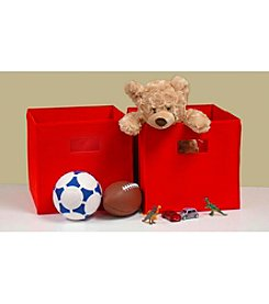 RiverRidge Kids Red 2-pc. Folding Storage Bin Set