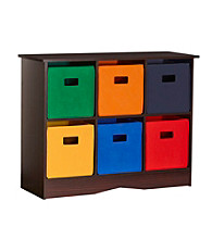 RiverRidge Kids Espresso 6-pc. Sports Bin