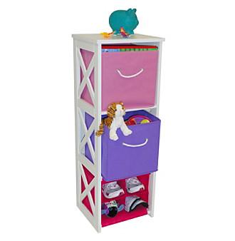 RiverRidge Kids Pastel Colors X-Frame Kids Storage Cabinet