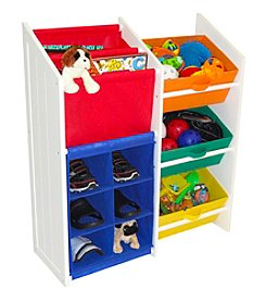 RiverRidge Kids Primary Colors Kids Super Storage Cabinet