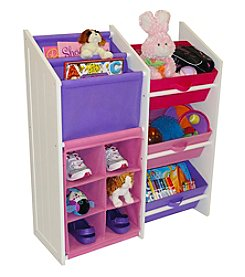 RiverRidge Kids Pastel Colors Kids Super Storage Cabinet