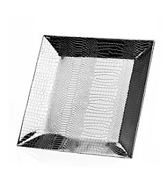 Godinger® Croco  Square Tray
