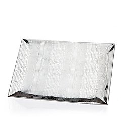 Godinger® Croco Rectangular Tray