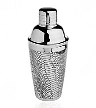 Godinger® Croco Design Cocktail Shaker