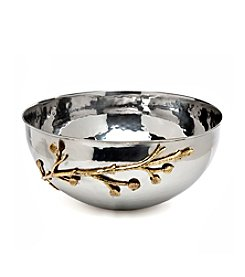 Godinger® Leaf Design Salad Bowl