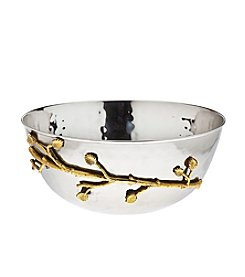 Godinger® Leaf Design Salad Bowl