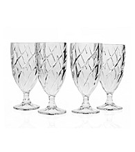 Godinger® Crosswinds Set of 4 Ice Tea Glasses