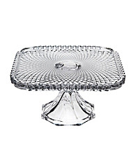 Godinger® Belmont Clear Footed Cake Plate